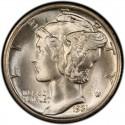 1931 Mercury Dime
