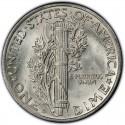 1940 Mercury Dime Value