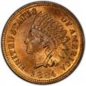 1884 Indian Head Pennies
