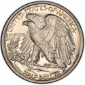 1939 Walking Liberty Half Dollar Value