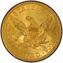 1844 Liberty Head Half Eagles values