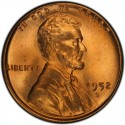 1952 Lincoln Wheat Pennies