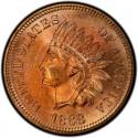 1868 Indian Head Pennies
