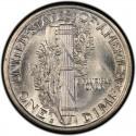 1917 Mercury Dime Value