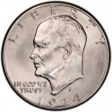 1974 Eisenhower Dollar Value