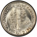 1926 Mercury Dime Value