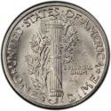 1935 Mercury Dime Value