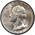 1953 Washington Quarter Value