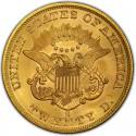 1862 Liberty Head Double Eagle Value