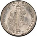 1937 Mercury Dime Value