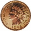 1904 Indian Head Pennies