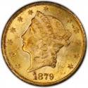 1879 Liberty Head Double Eagle