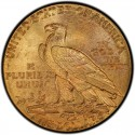 1912 Indian Head $5 Half Eagle Value