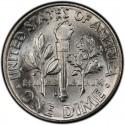1959 Roosevelt Dime Value