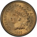 1860 Indian Head Pennies
