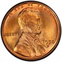 1950 Lincoln Wheat Pennies