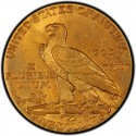 1914 Indian Head $5 Half Eagle Value