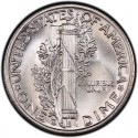 1943 Mercury Dime Value