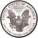 2001 American Silver Eagle