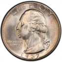 1937 Washington Quarter Value