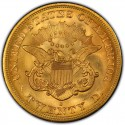 1863 Liberty Head Double Eagle Value