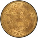 1867 Liberty Head Double Eagle Value
