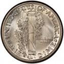 1931 Mercury Dime Value