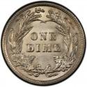 1908 Barber Dime Value