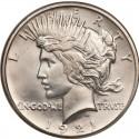 1921 Peace Dollar Value