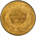 1855 Small Head Indian Princess Gold Dollar Value