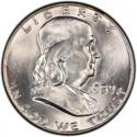 1959 Franklin Half Dollar