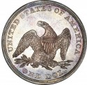 1840 Seated Liberty Silver Dollar Values