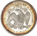 1866 Seated Liberty Silver Dollar Values