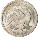 1871 Seated Liberty Silver Dollar Values