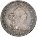 1800 Draped Bust Silver Dollar