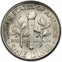 1962 Roosevelt Dime Value
