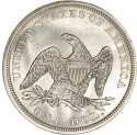 1865 Seated Liberty Silver Dollar Values