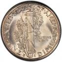 1934 Mercury Dime Value