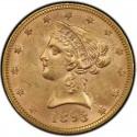 1893 Liberty Head $10 Gold Eagle