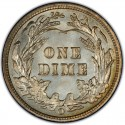 1902 Barber Dime Value