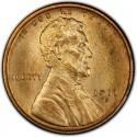 1911 Lincoln Wheat Pennies