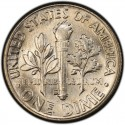 1956 Roosevelt Dime Value