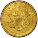 1851 Liberty Head Double Eagle Value