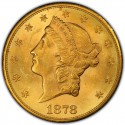 1878 Liberty Head Double Eagle