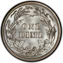 1913 Barber Dime Value