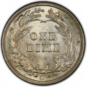 1911 Barber Dime Value