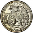 1938 Walking Liberty Half Dollar Value