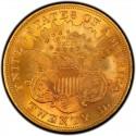 1876 Liberty Head Double Eagle Value
