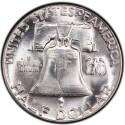 1961 Franklin Half Dollar Value