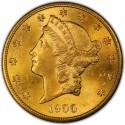 1900 Liberty Head Double Eagle